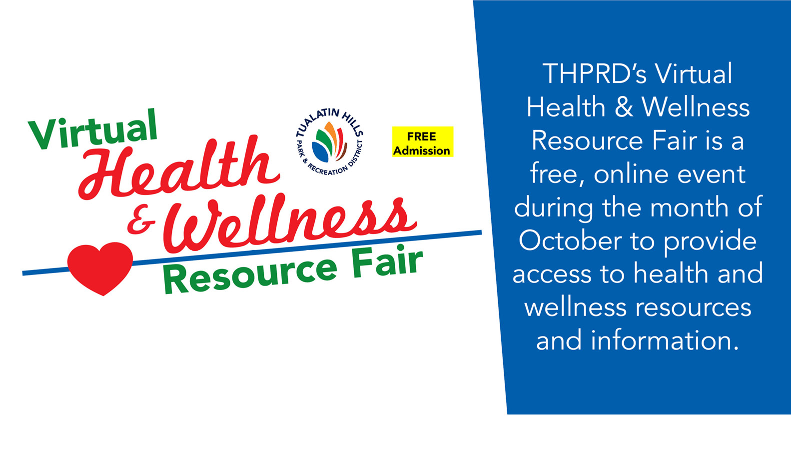 Health & Wellness - Virtual Resource Fair