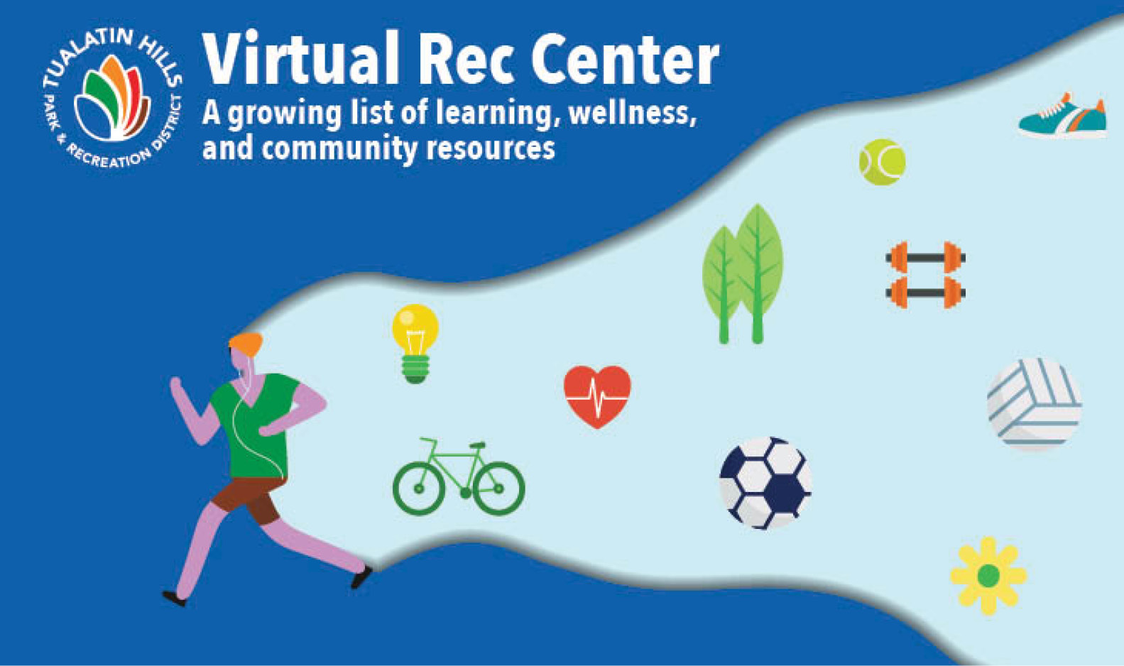 Virtual Rec Center - Fitness, activities, and more!